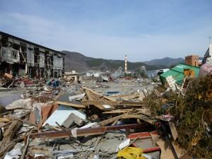 2011年4月7日被災地大船渡で最初に見た景色